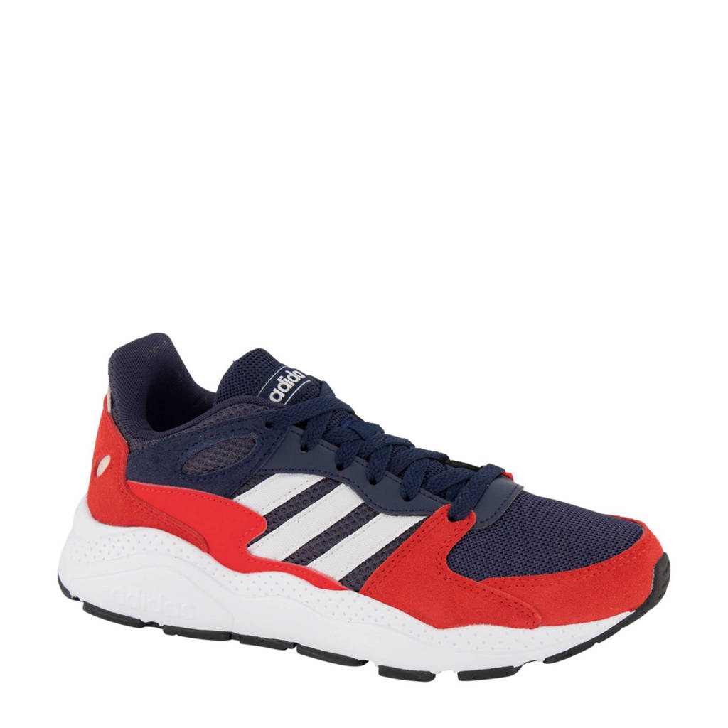 adidas  Crazychaos  sneakers rood/blauw, Rood/wit/blauw