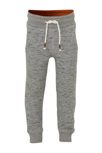 Palomino   joggingbroek grijs/zwart