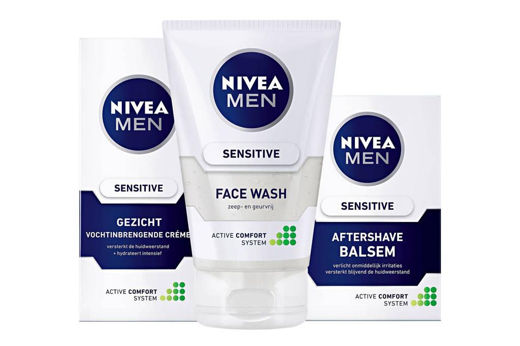 NIVEA Sensitive Face Care Man geschenkset