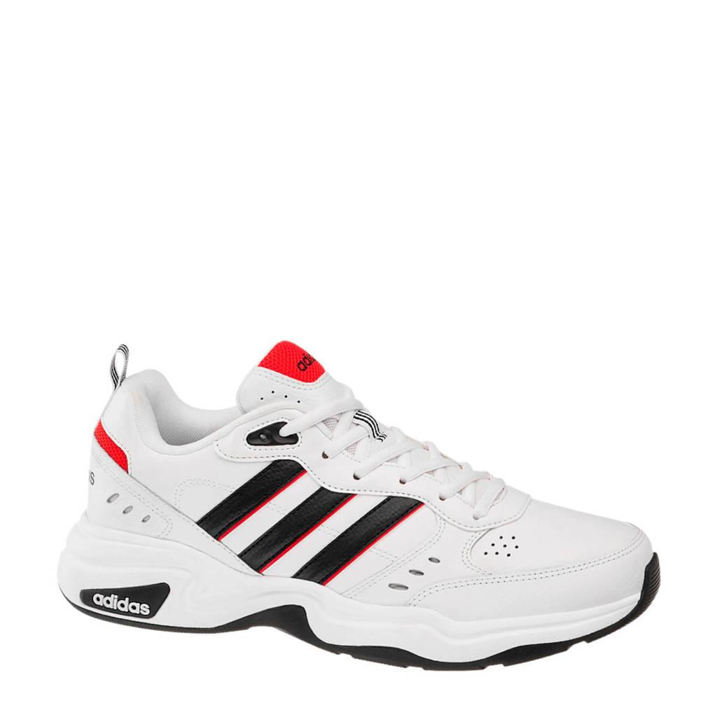adidas  Strutter sneakers wit/zwart, Wit/zwart/rood