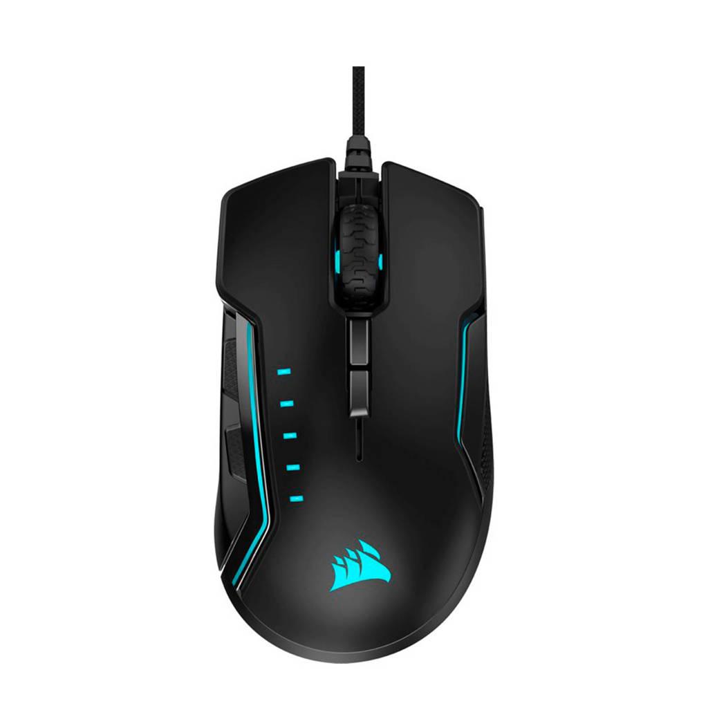 Corsair  Glaive RGB Pro optische gaming muis, Zwart