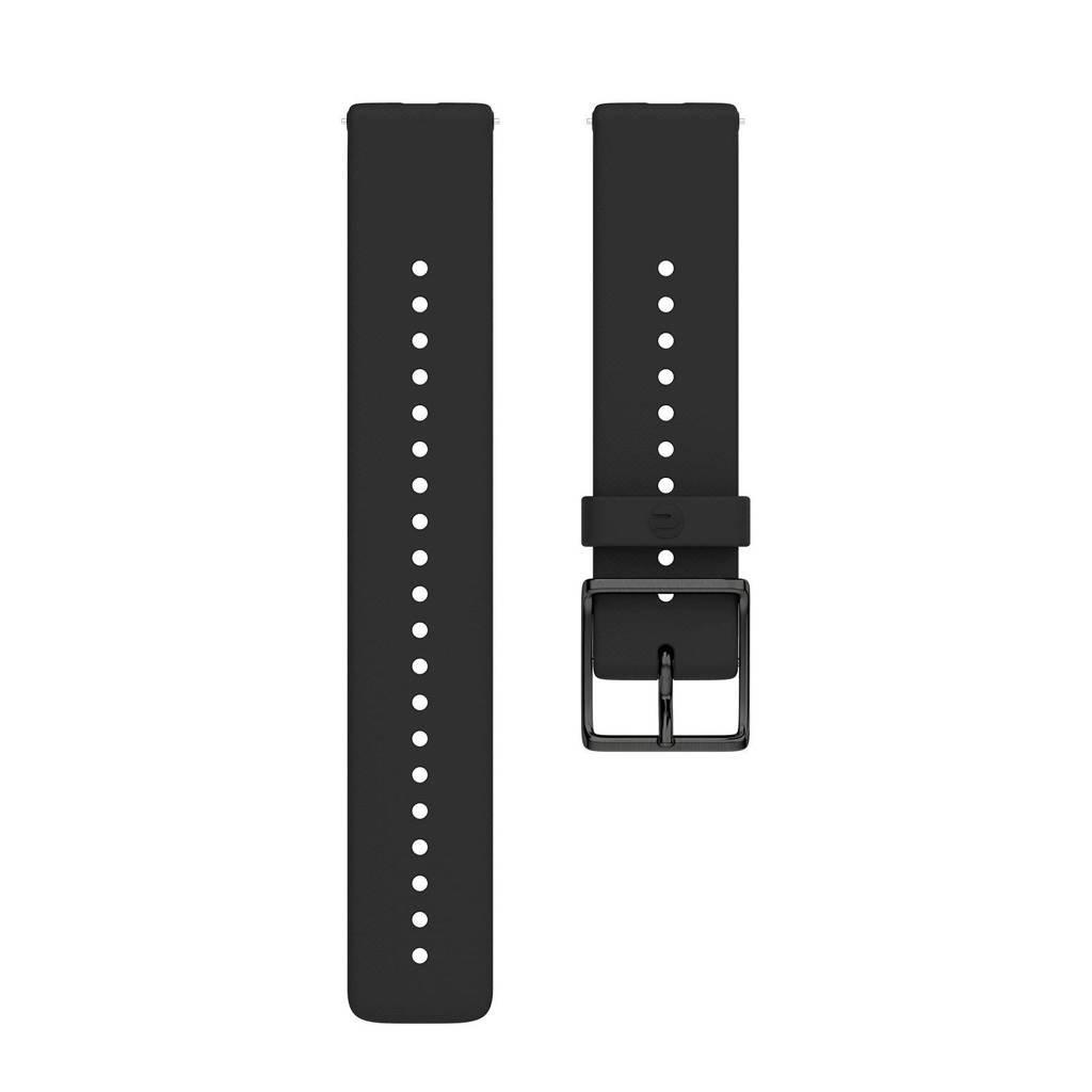Polar  Ignite verwisselbare polsband zwart - maat M/L, Zwart