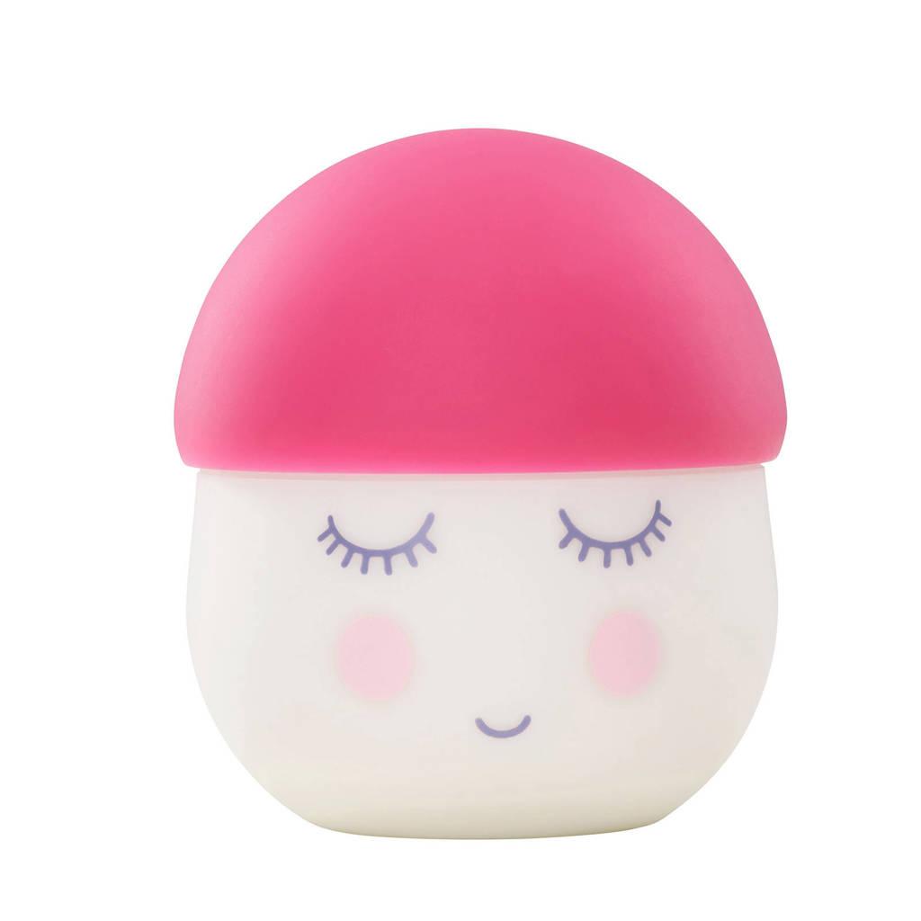 Babymoov nachtlampje Squeezy roze, Wit/roze