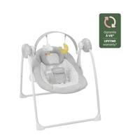 Badabulle comfort schommelstoeltje Candy lichtgrijs, Lichtgrijs/wit