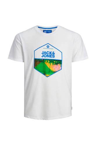 Jack & Jones Core slim fit T-shirt met printopdruk