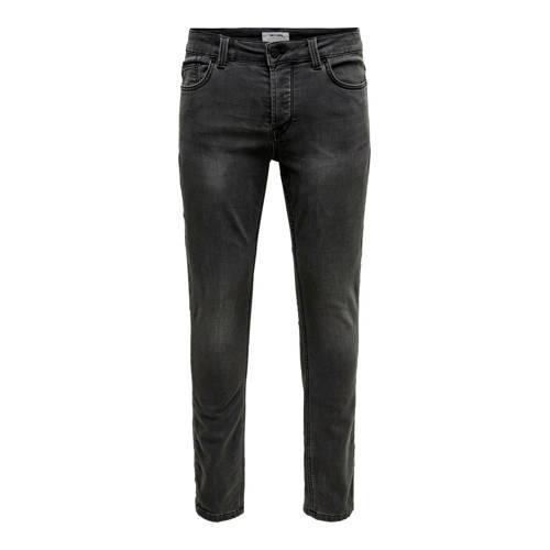 ONLY & SONS slim fit jeans Loom black denim
