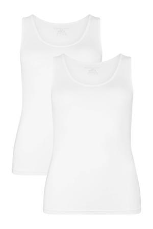hemd Anna met bamboe (set van 2) wit