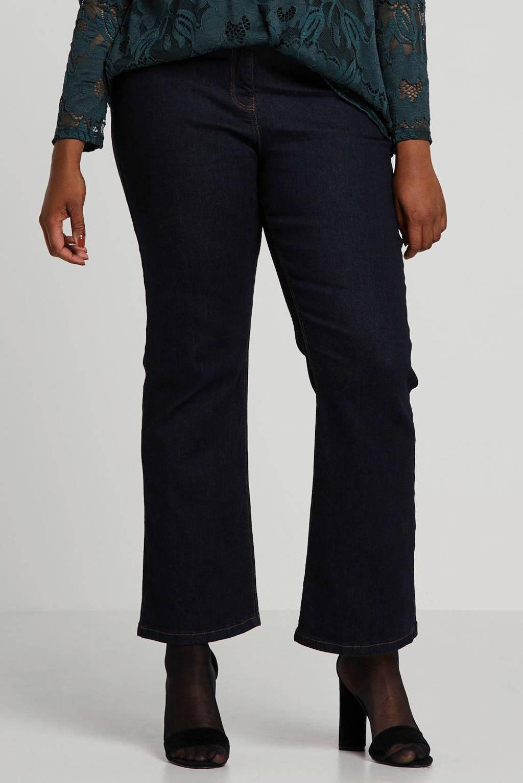 Simply Be Capsule bootcut jeans donkerblauw, Dark denim