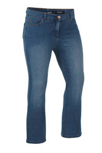 Simply Be Capsule bootcut jeans light denim, Blauw