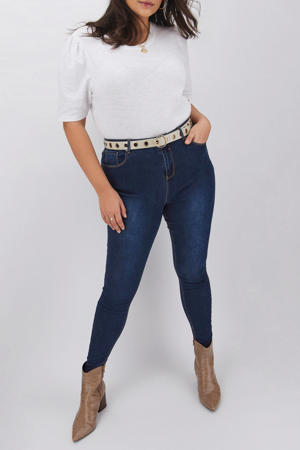 high waist skinny jeans Chloe blauw