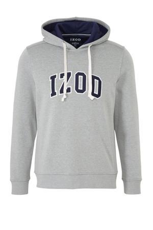 hoodie met tekst grijs