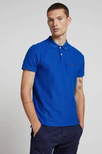IZOD regular fit polo met logo blauw, Blauw