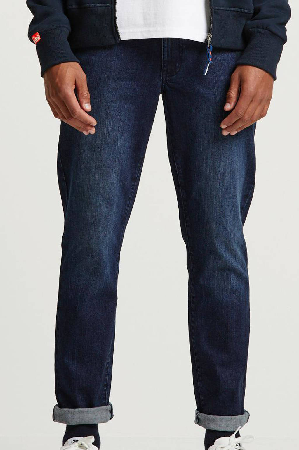 IZOD regular fit jeans, Donkerblauw