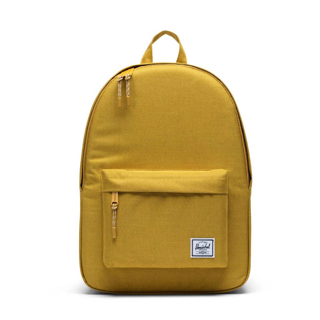 Herschel Classic  rugzak geel, Geel