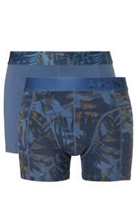 Shiwi boxershort (set van 2), Blauw