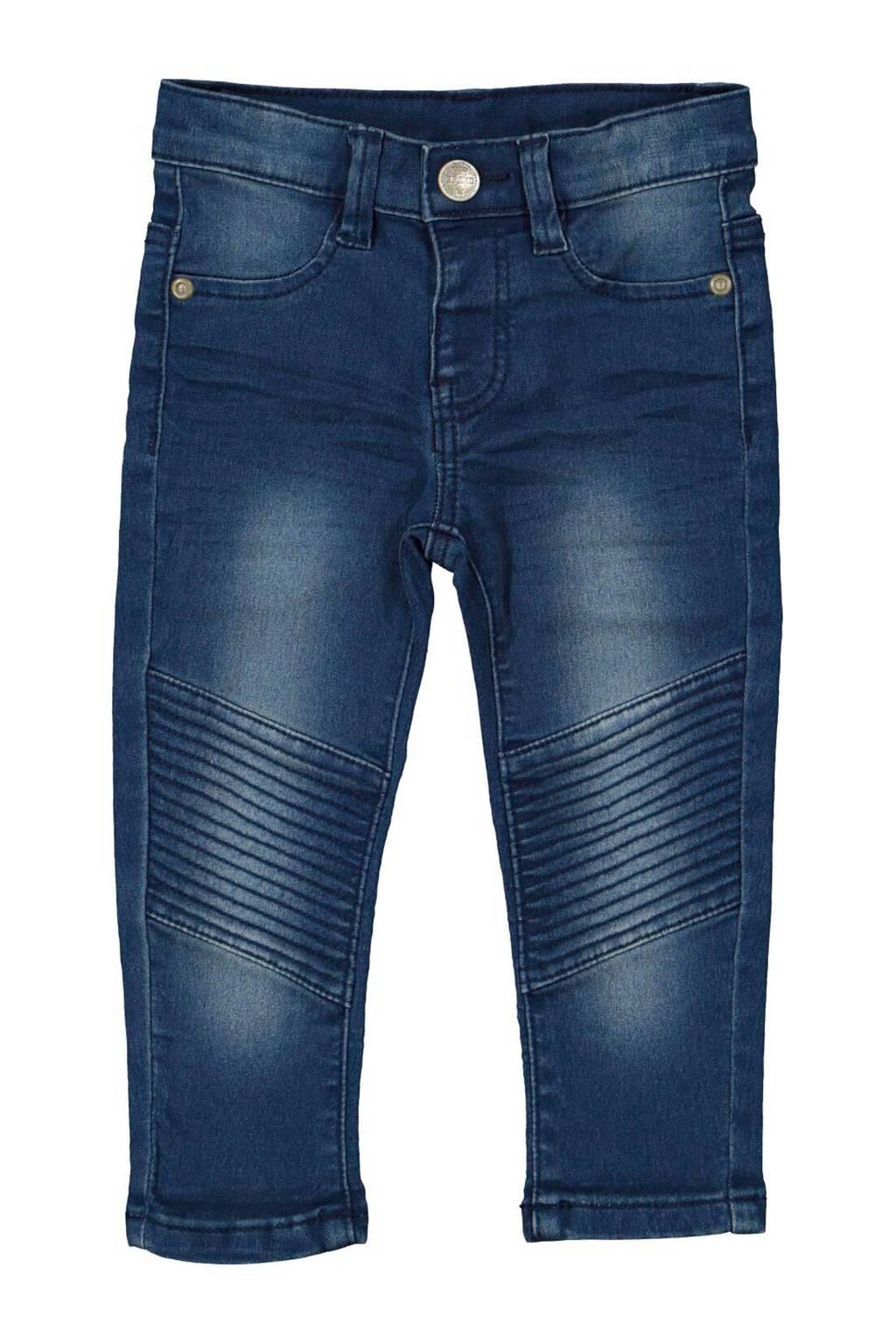 HEMA skinny jeans met textuur denim, Denim