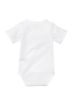 newborn overslagromper wit