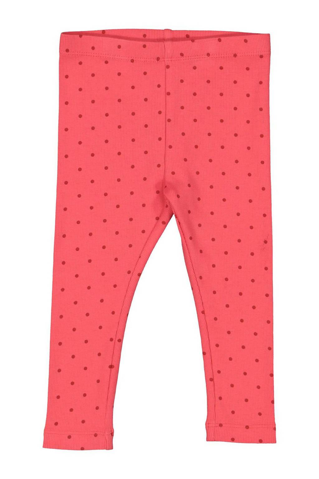 HEMA legging met stippen roze, Roze