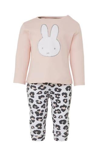 nijntje pyjama met panterprint