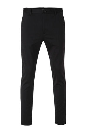 tapered fit pantalon marine