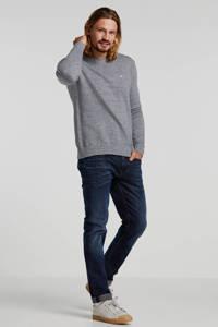 Tommy Jeans trui blauw/grijs, Blauw/grijs
