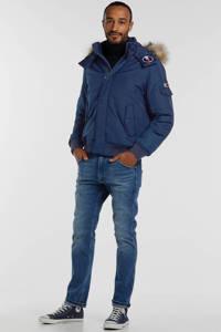 Tommy Jeans winterjas blauw, Blauw