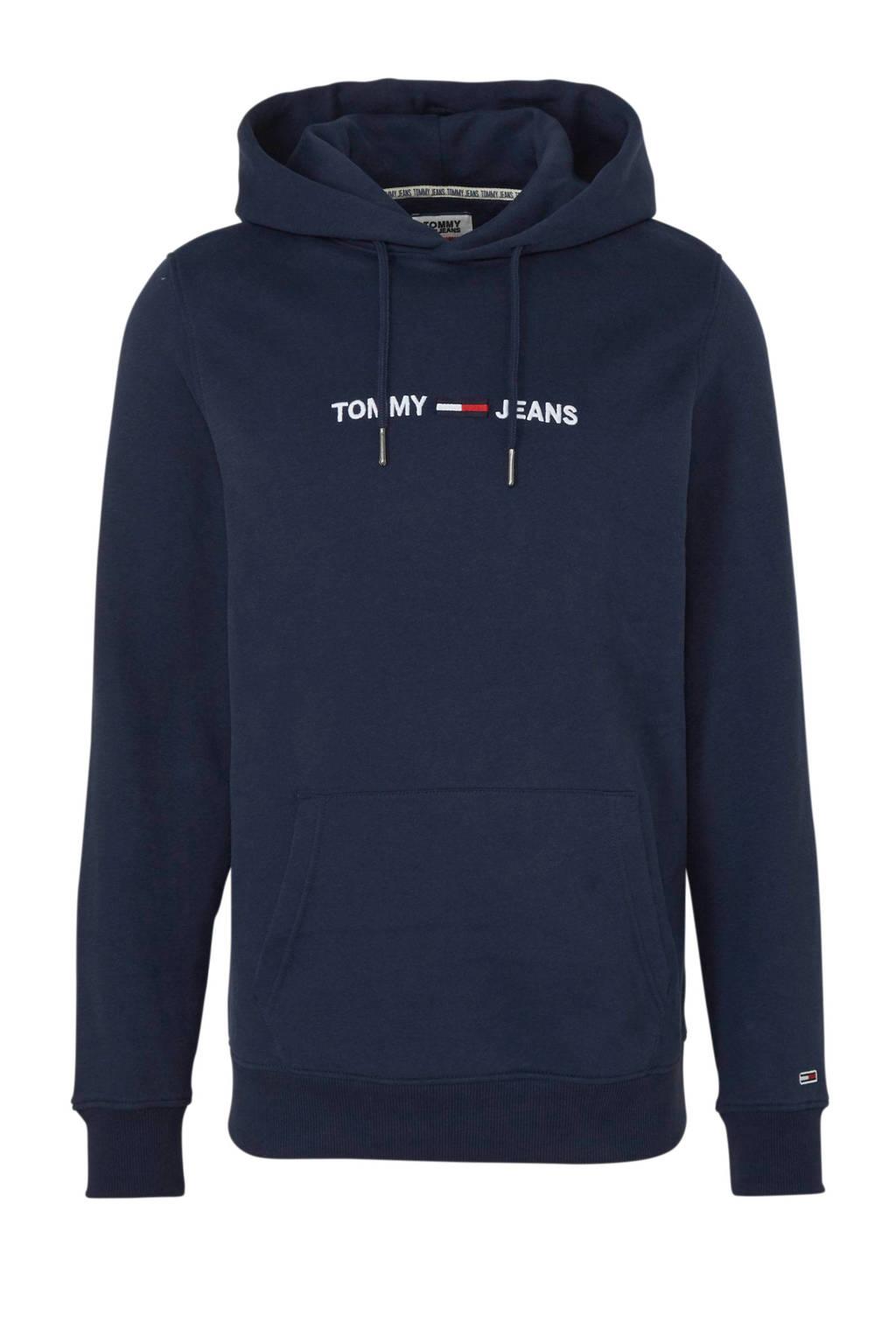 Tommy Jeans hoodie met logo marine, Marine