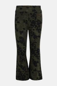 Jill broek met camouflageprint donkergroen, Donkergroen