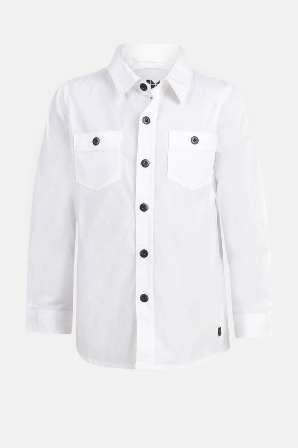 Mitch by Shoeby overhemd Skay wit/zwart, Wit/zwart