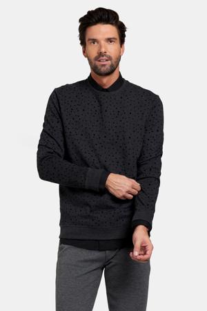 sweater met stippen zwart