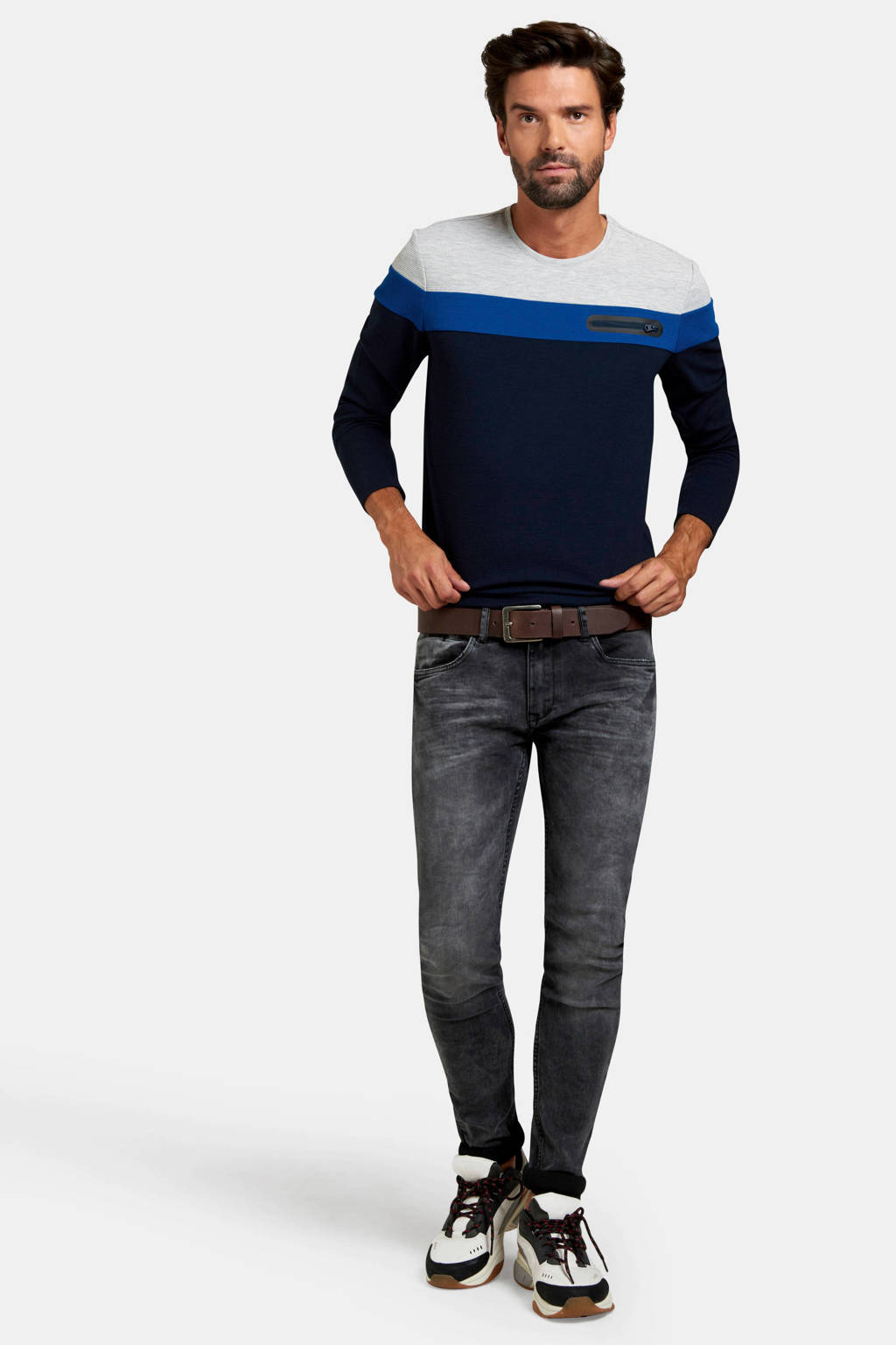 Refill skinny jeans Releroy black, Black