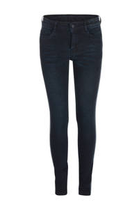 JILL MITCH skinny jeans Macy met zijstreep, Dark denim