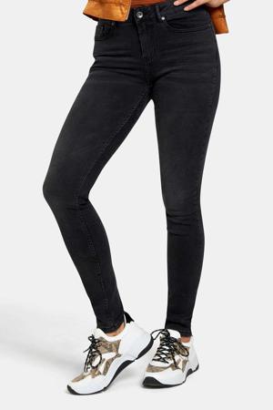 high waist skinny jeans Liza Edith zwart L32