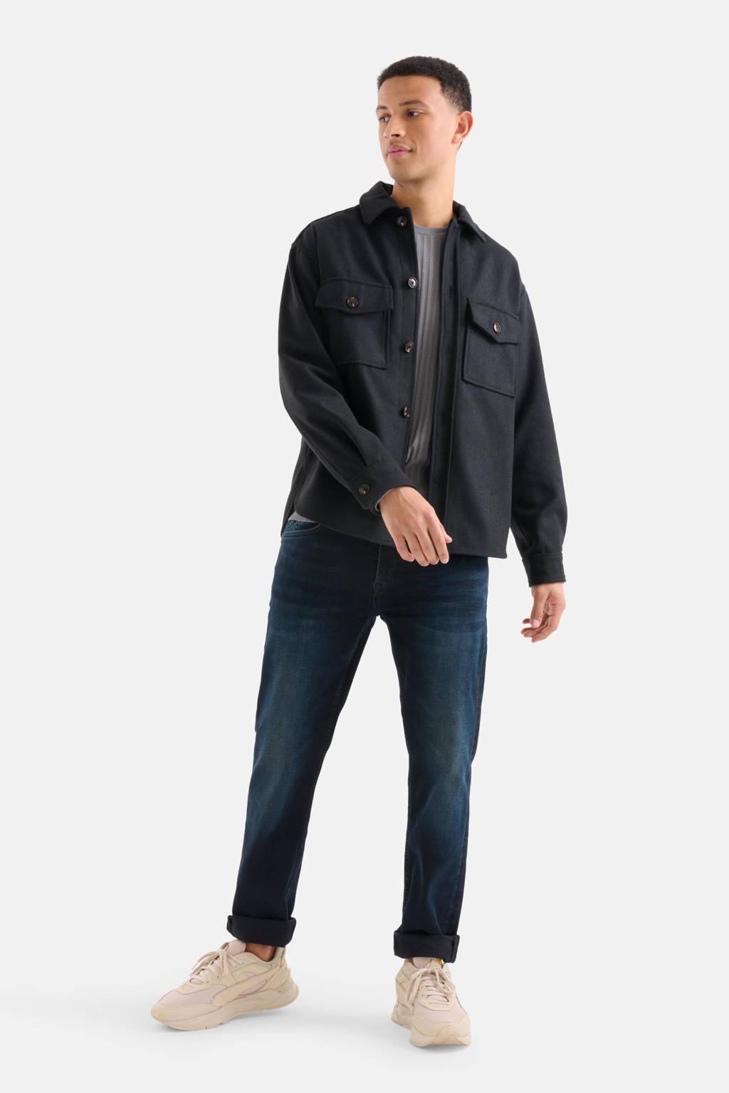 Shoeby Refill slim fit jeans Lewis blue/black L34, Blue/Black