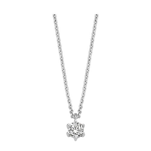 Moments ketting 61304AW zilver
