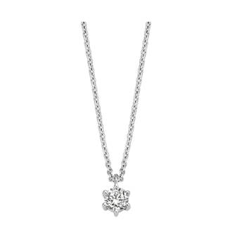ketting 61304AW zilver