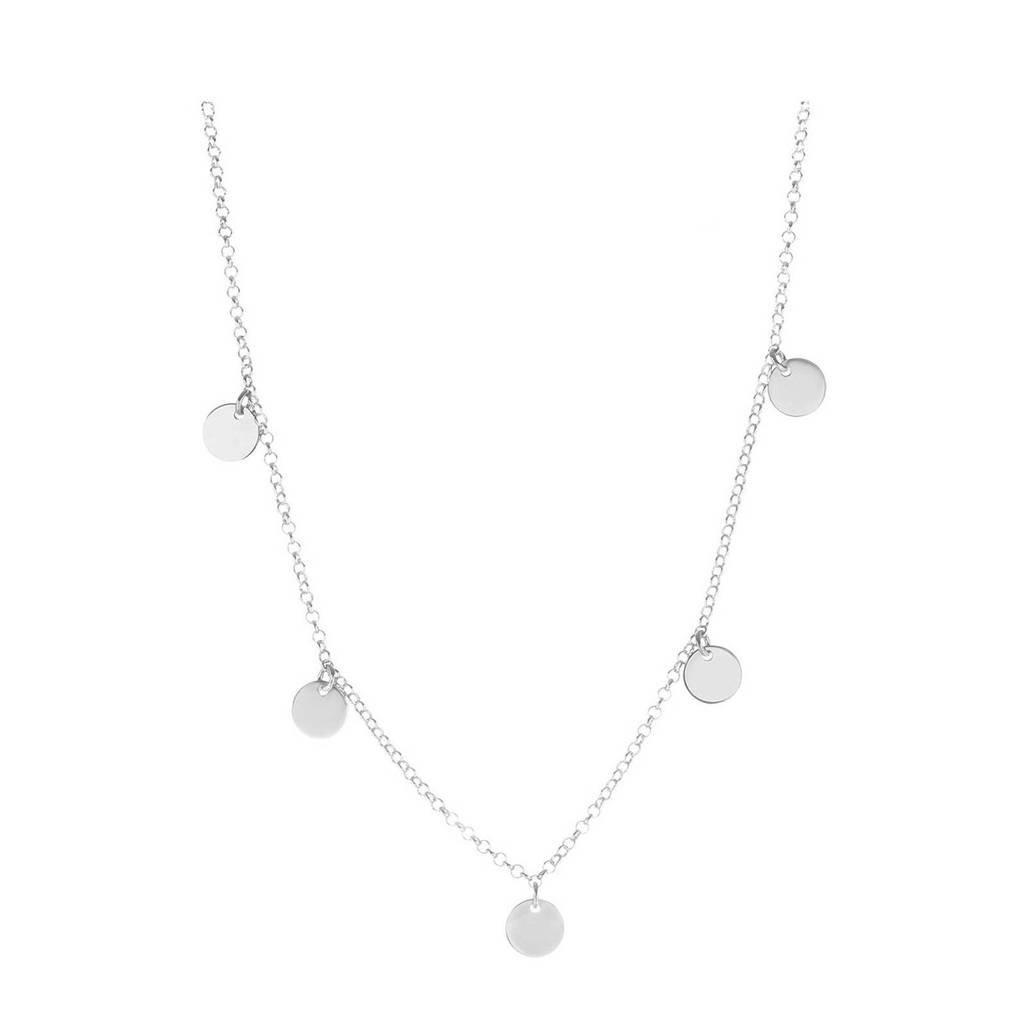 Selected Jewels zilveren ketting, Zilverkleurig