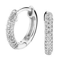 Selected Jewels zilveren oorbellen SJSS19082, Zilverkleurig