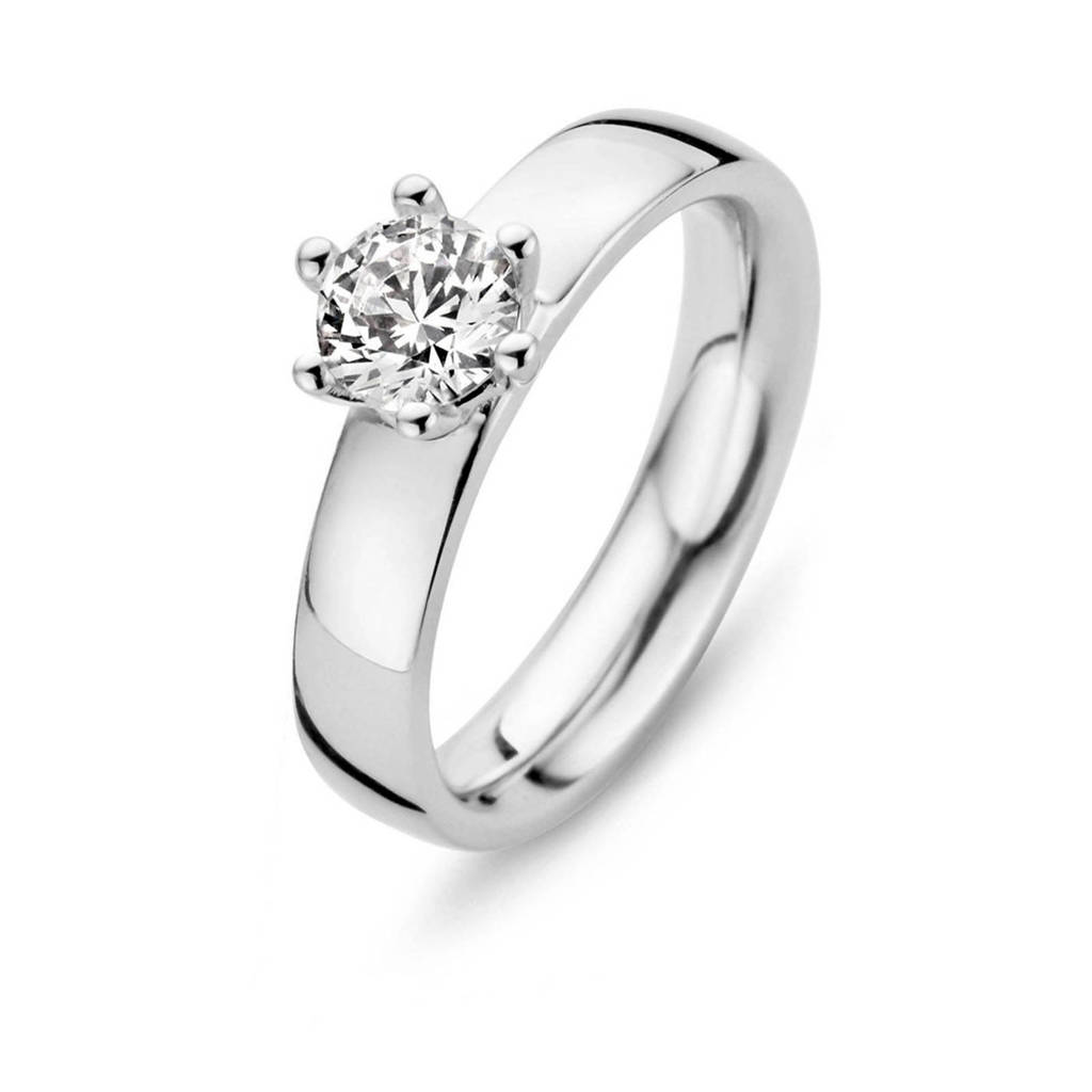 Moments Zilver 15121AW ring, Zilverkleurig