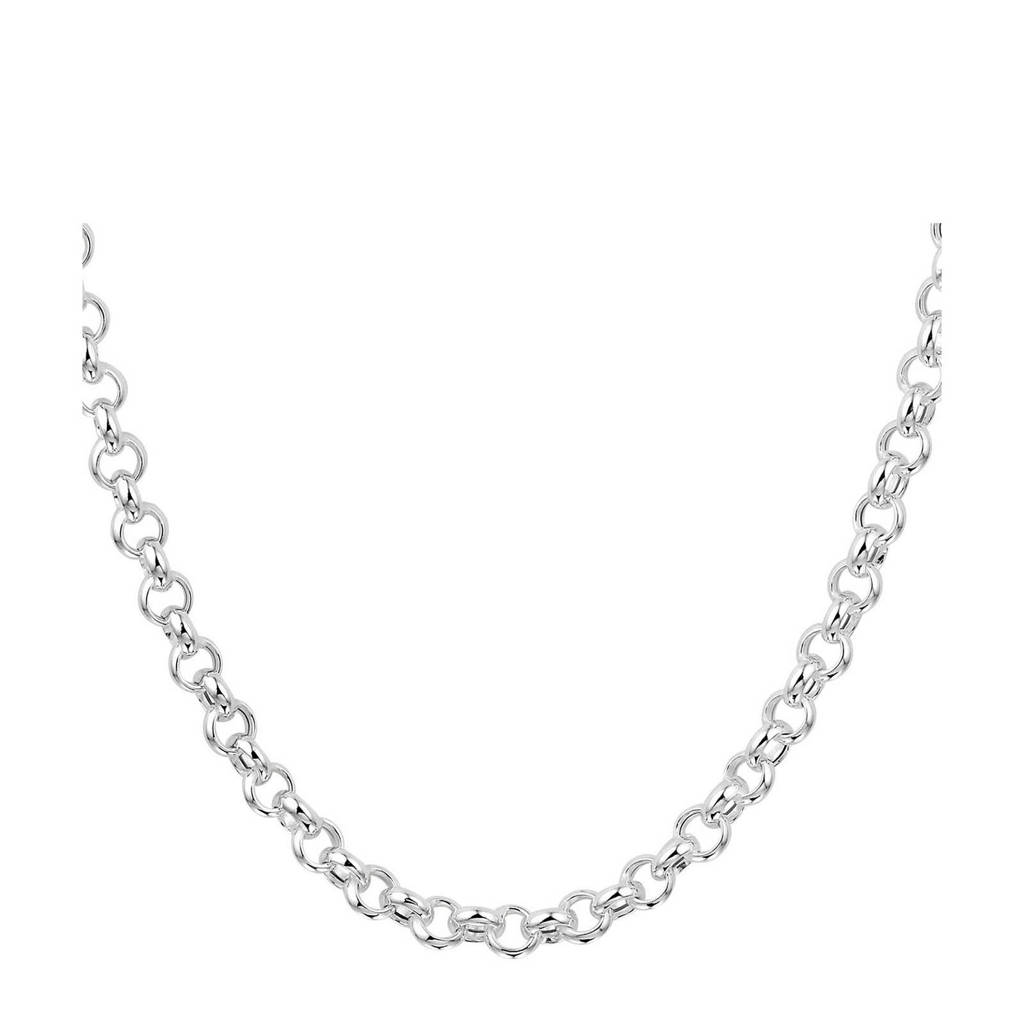 Selected Jewels zilveren ketting SJSS19044, Zilverkleurig