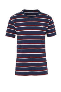 POLO Ralph Lauren gestreept T-shirt donkerblauw/rood, Donkerblauw/rood