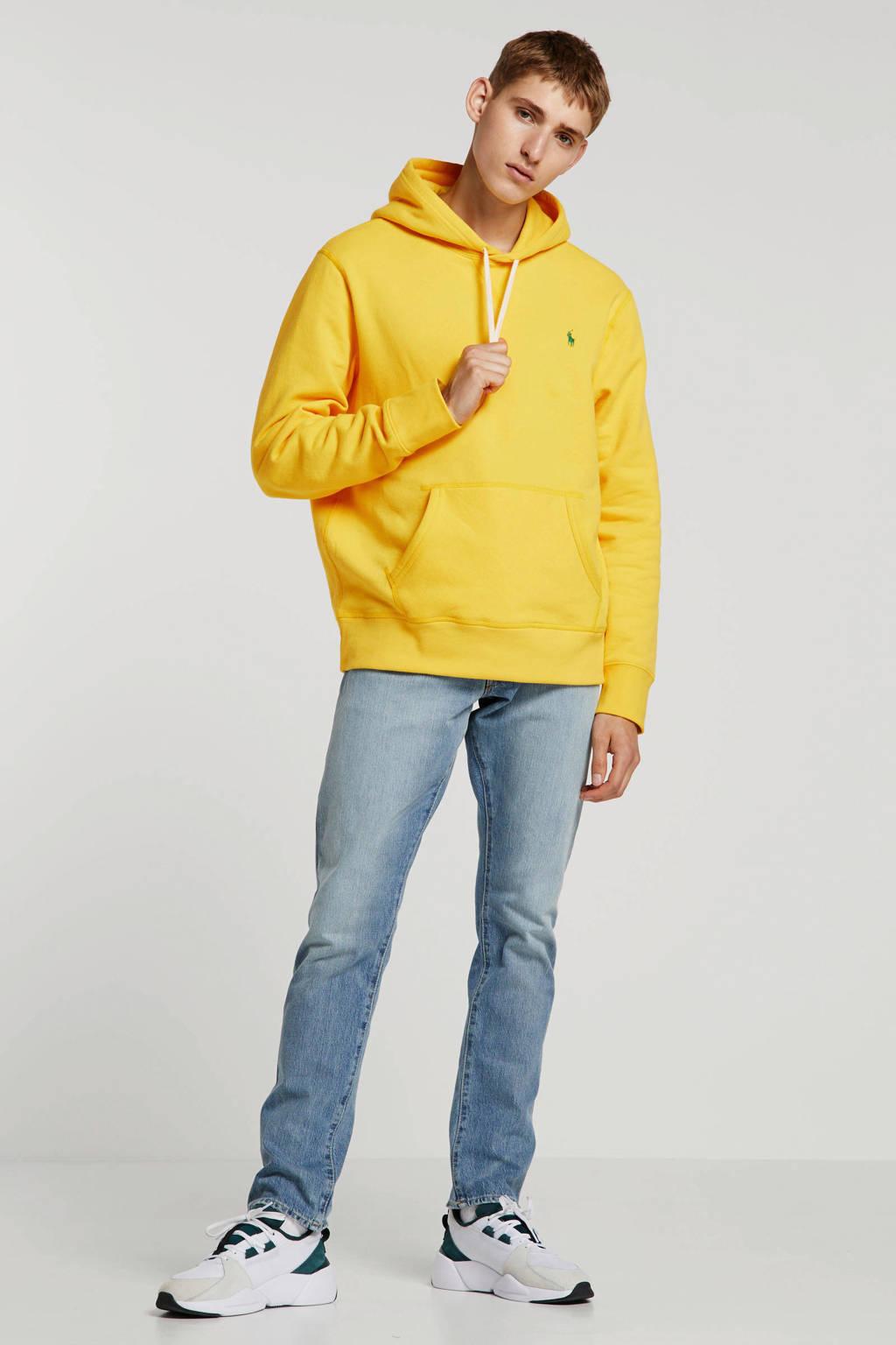 POLO Ralph Lauren hoodie met logo en borduursels geel, Geel