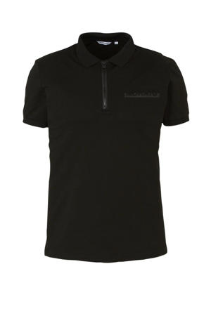 wollen T-shirt zwart