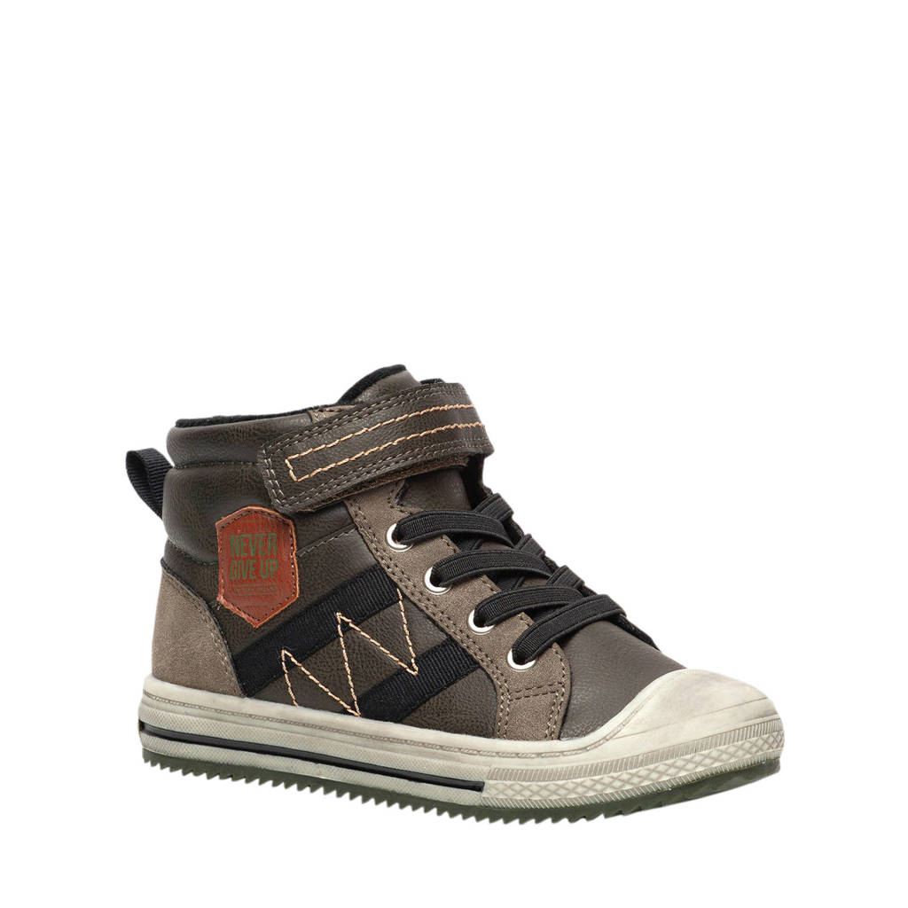 Scapino Blue Box   hoge sneakers bruin, Bruin