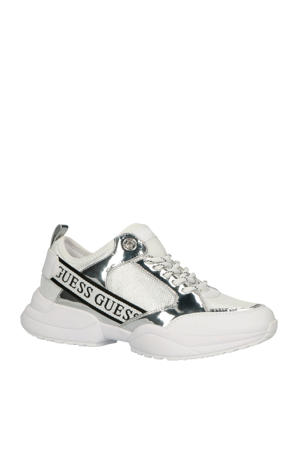 Breeta sneakers wit/zilver