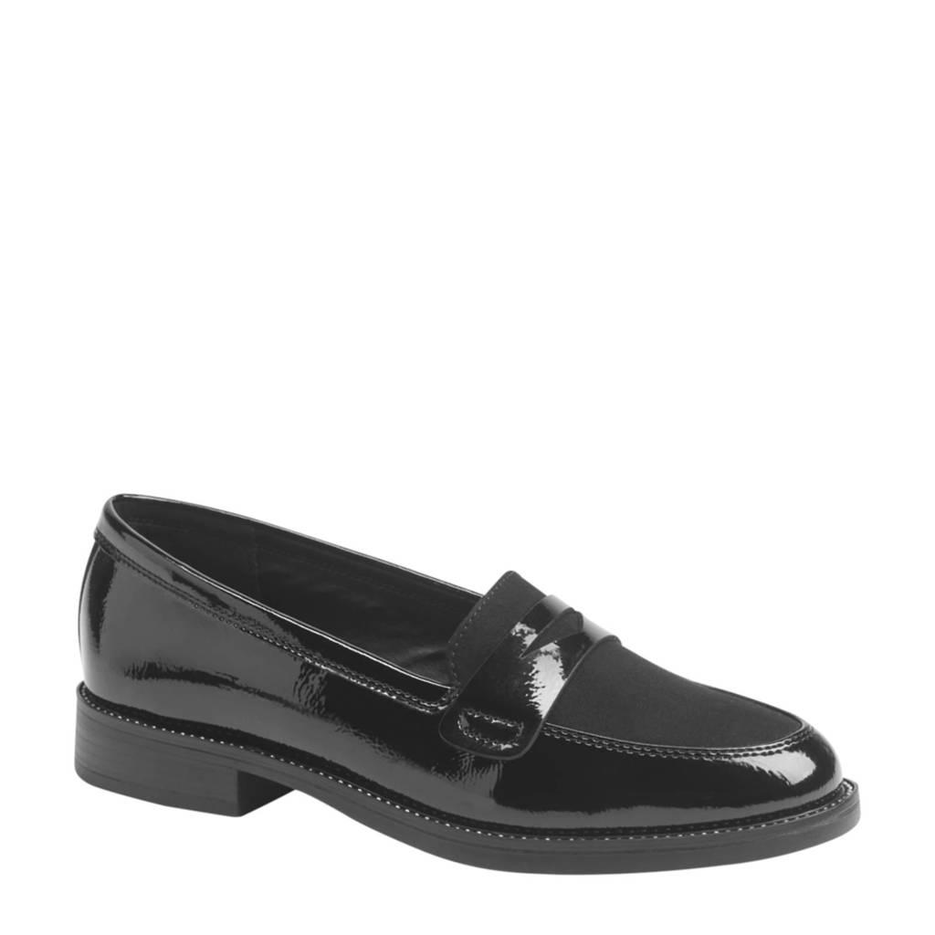 Graceland   loafers zwart, Zwart