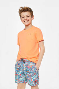 WE Fashion zwemshort met all over print, Multicolor