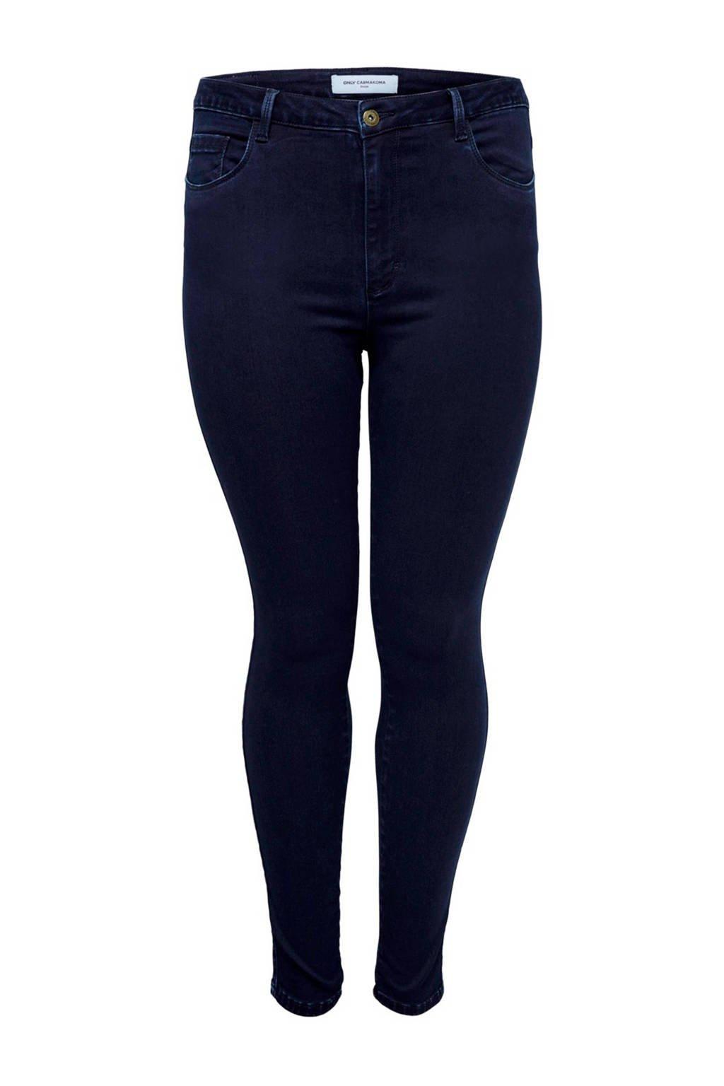 ONLY carmakoma skinny jeans, Donkerblauw