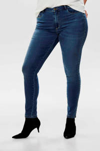 ONLY CARMAKOMA skinny jeans CARAUGUSTA medium blue denim, Blauw