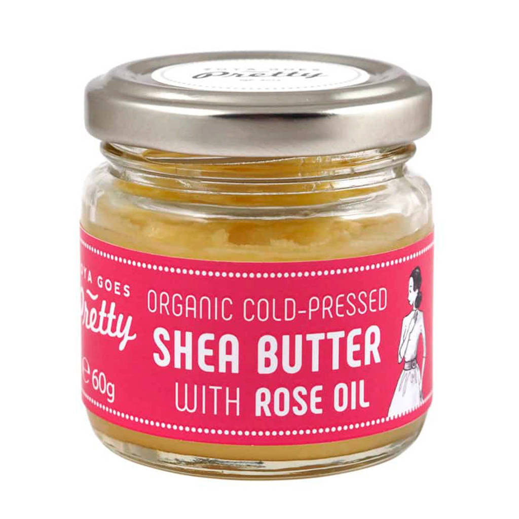 Zoya Goes Pretty Shea & rose butter - cold-pressed & organic